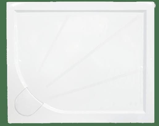 SIKO sprchová vanička obdelníková 100x80 cm, litý mramor - SIKOLIMCC10080