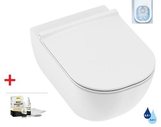 Závěsné WC se sedátkem softclose Jika Plan, zadní odpad, 53cm SIKOSJMI20714