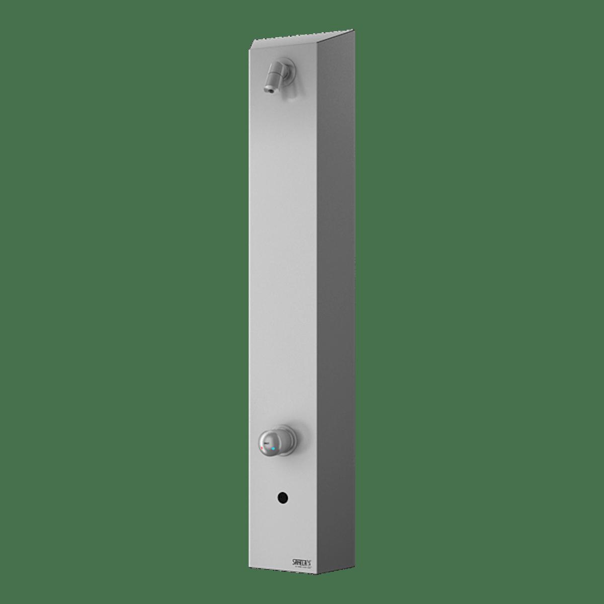 Sprchový panel Sanela na stěnu se senzorem nerez SLSN02EB - SANELA Sprchový panel SLSN 02EB