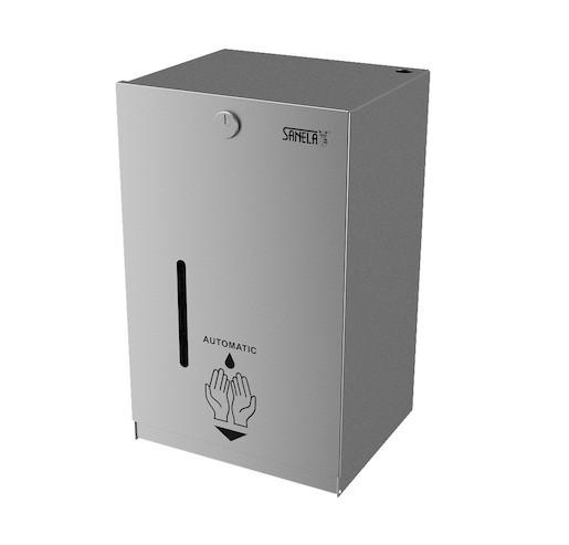 Automatický dávkovač dezinfekce Sanela 5l nerez matná SLZN59E