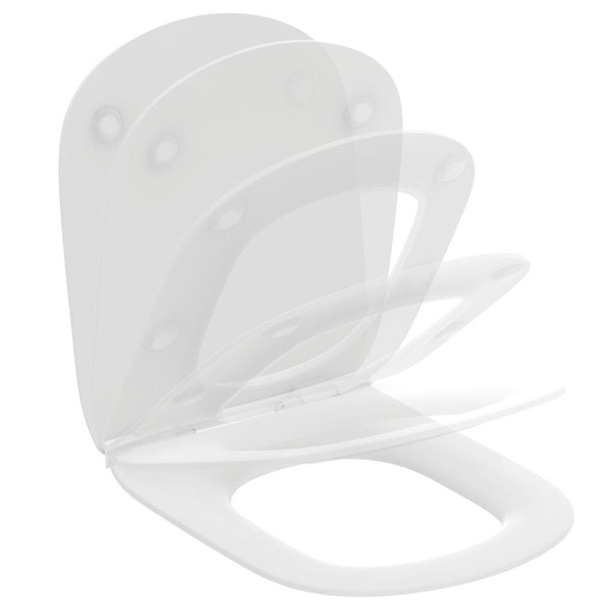 Wc prkénko Ideal Standard TESI duroplast matná bílá T3527V1
