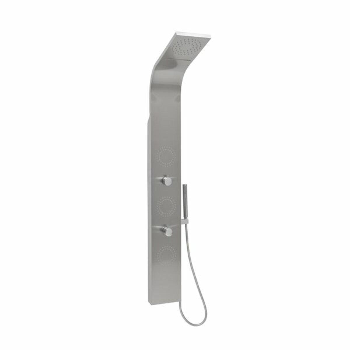 Sprchový panel Ravak Jet Inox na stěnu chrom X01453