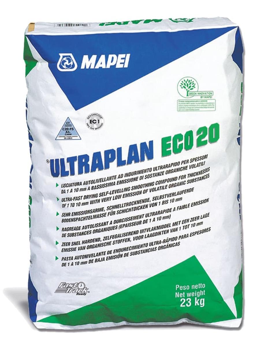 Samonivelační hmota Mapei Ultraplan Eco 20 23kg 1491523