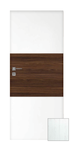 Interiérové dveře Naturel Vari levé 80 cm borovice bílá VARI100BB80L
