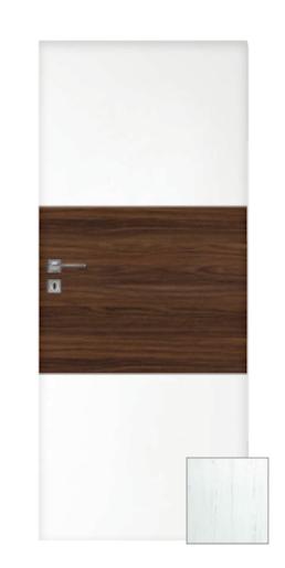 Interiérové dveře Naturel Vari levé 90 cm borovice bílá VARI100BB90L
