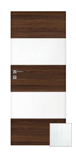 Interiérové dveře Naturel Vari pravé 90 cm borovice bílá VARI90BB90P