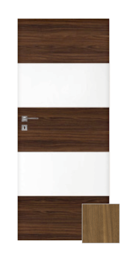 Interiérové dveře NATUREL Vari90, 70 cm, pravé, otočné, VARI90OK70P