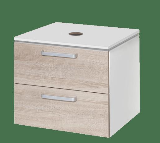 Koupelnová skříňka pod umyvadlo Naturel Vario Dekor 54x45 cm dub bardolino VARIODESK60ZBIDB