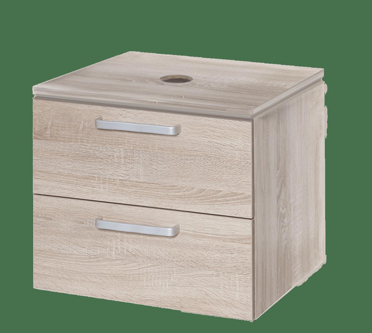 Koupelnová skříňka pod umyvadlo Naturel Vario Dekor 54x45 cm dub bardolino VARIODESK60ZDBDB