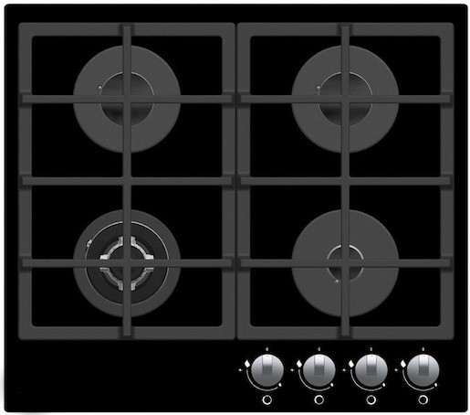 Plynová varná deska Mora černá VDP645GB1