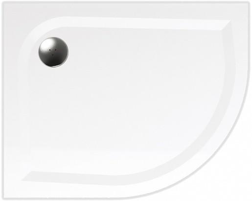 TEIKO sprchová vanička VIRGO 100x80 R55 LEVÁ 100x80x3 Z139100L96T52001