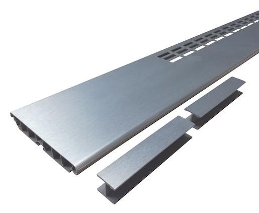 Mřížka v soklu NRZ broušená 60cm VMSNRZ60
