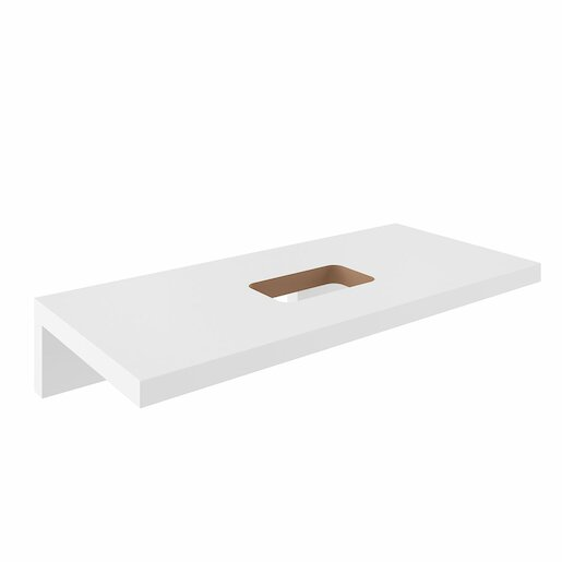 Deska pod umyvadlo Ravak 120x55 cm bílá X000000832