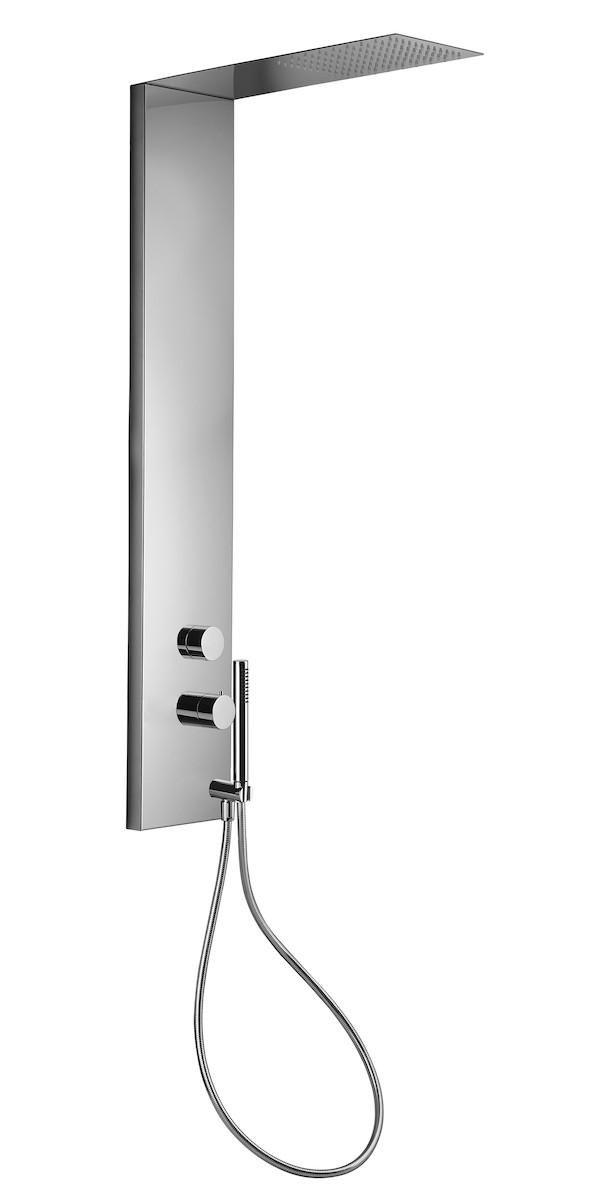 Sprchový panel Paffoni s termostatickou baterií chrom ZCOL673