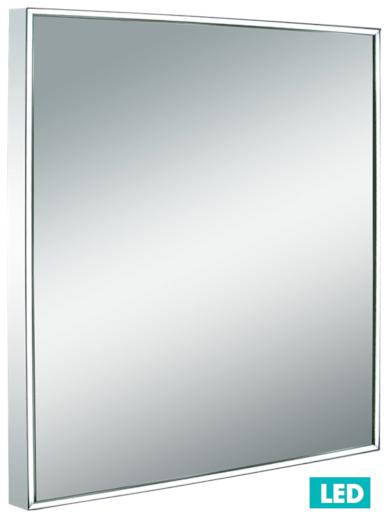 Zrcadlo s osvětlením led Iluxit 60x60 cm IP44 ZIL6060LED