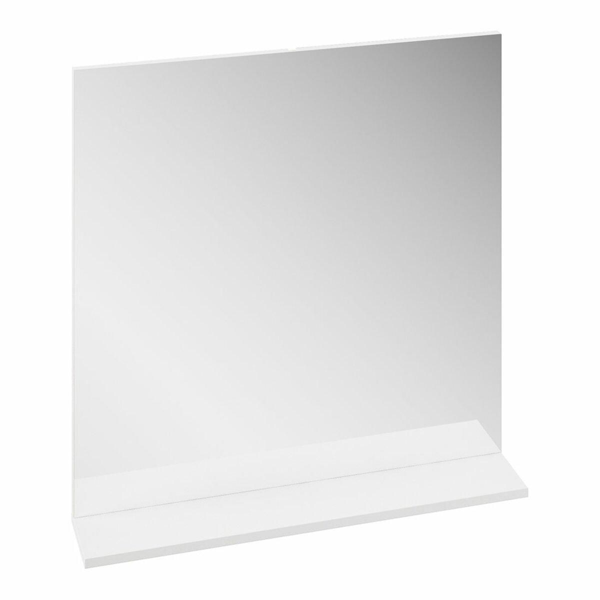 Zrcadlo Ravak Rosa II 76x75 cm bílá X000001296
