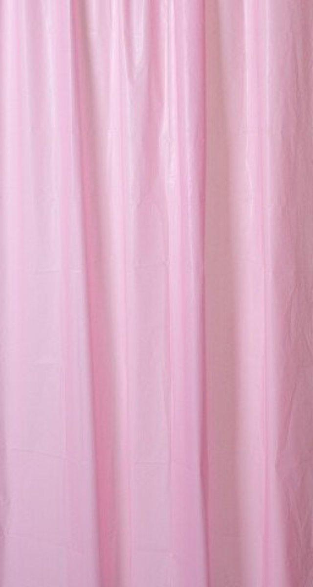 Sprchový závěs Sapho Aqualine růžový 180x200 cm ZV021