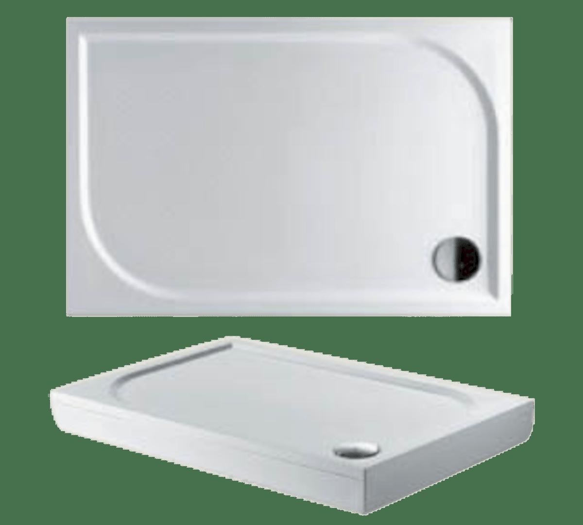 Sprchová vanička obdélníková Riho Kolping 120x90 cm litý mramor DB3400500000000