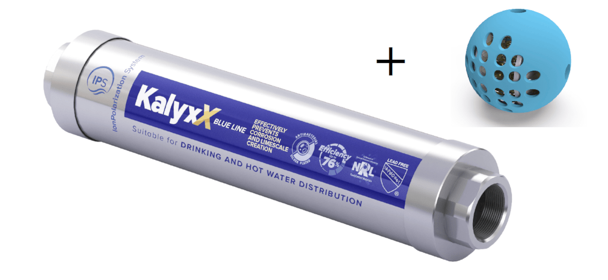 SAT IPS akční balíček KalyxX Blue line 1/2 + Washball IPSKXBG12SWB