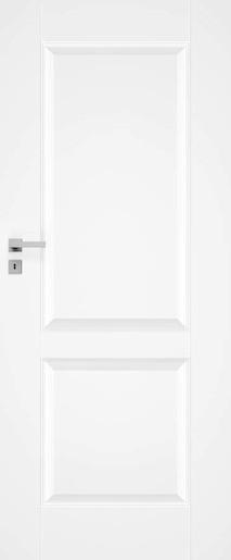 Interiérové dveře NATUREL Nestra10, 70 cm, bílé, lak, pravé, WC, NESTRA1070P